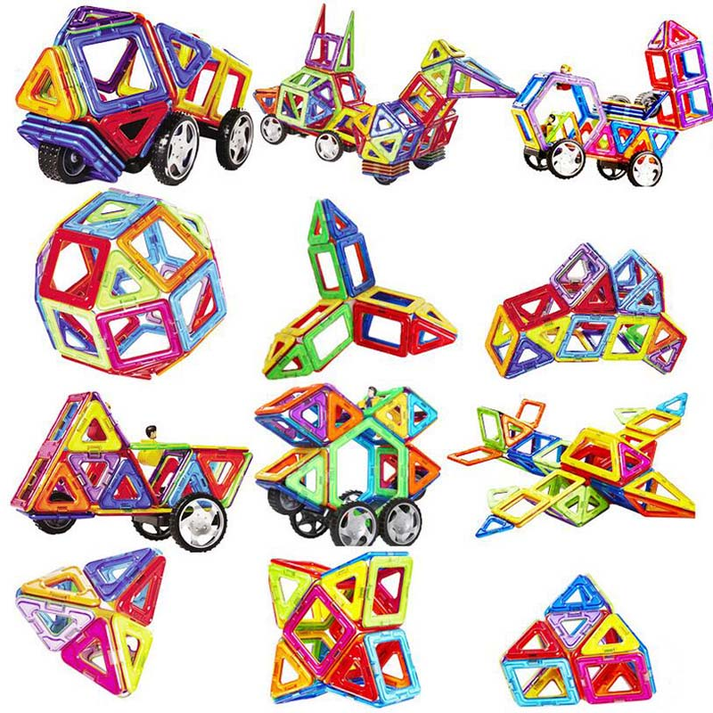 Magnetic Blocks Building-Toys-Set Construction-Set Kids Gift Children for Models Designer
