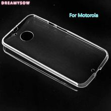 Top quality Transparent Soft TPU Back Cover Case For Motorola Moto C PLUS E4 G5S G5 PLUS X4 E plus G4 Z PLAY X2 X3 LUX G3 G2(China)