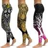 LI-FI Print Yoga Pants Women Unique Fitness Leggings Workout Sports Running Leggings Sexy Push Up Gym Wear Elastic Slim Pants 1