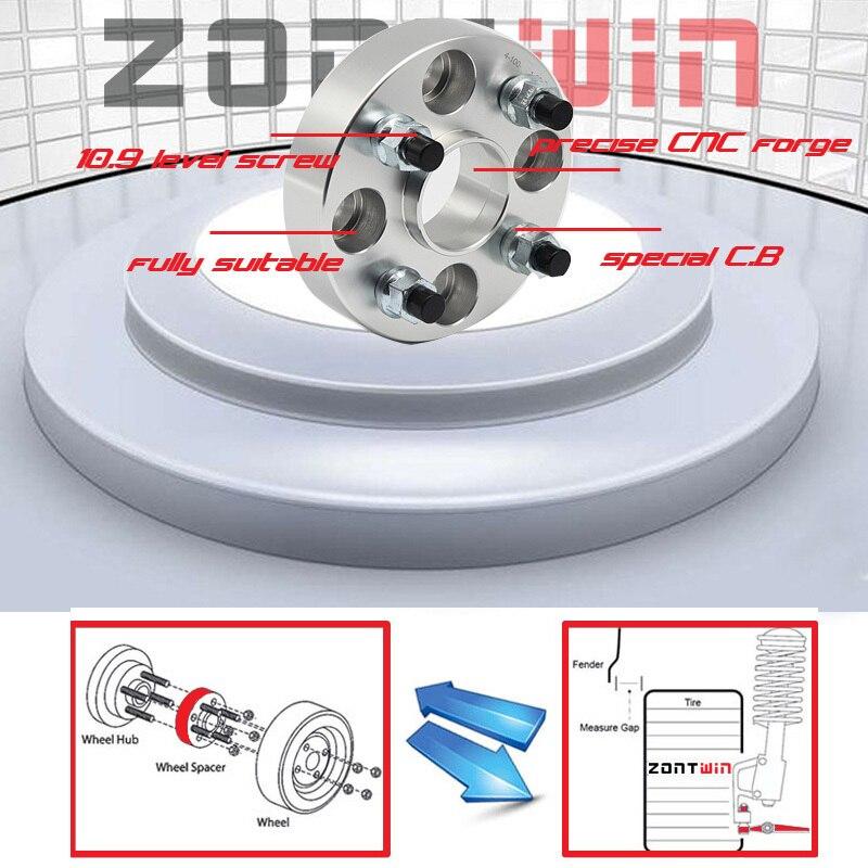 Livraison gratuite adaptateur de roue, 1 paire (2 pièces) entretoises 4x100-56.1 épaisseur 20mm costume pour Honda Insight et CITY