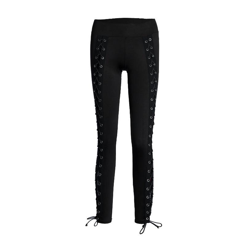 HTB1YXY8RVXXXXbsXpXXq6xXFXXXL - Stripe sexy side cross line Black Hole pants JKP158