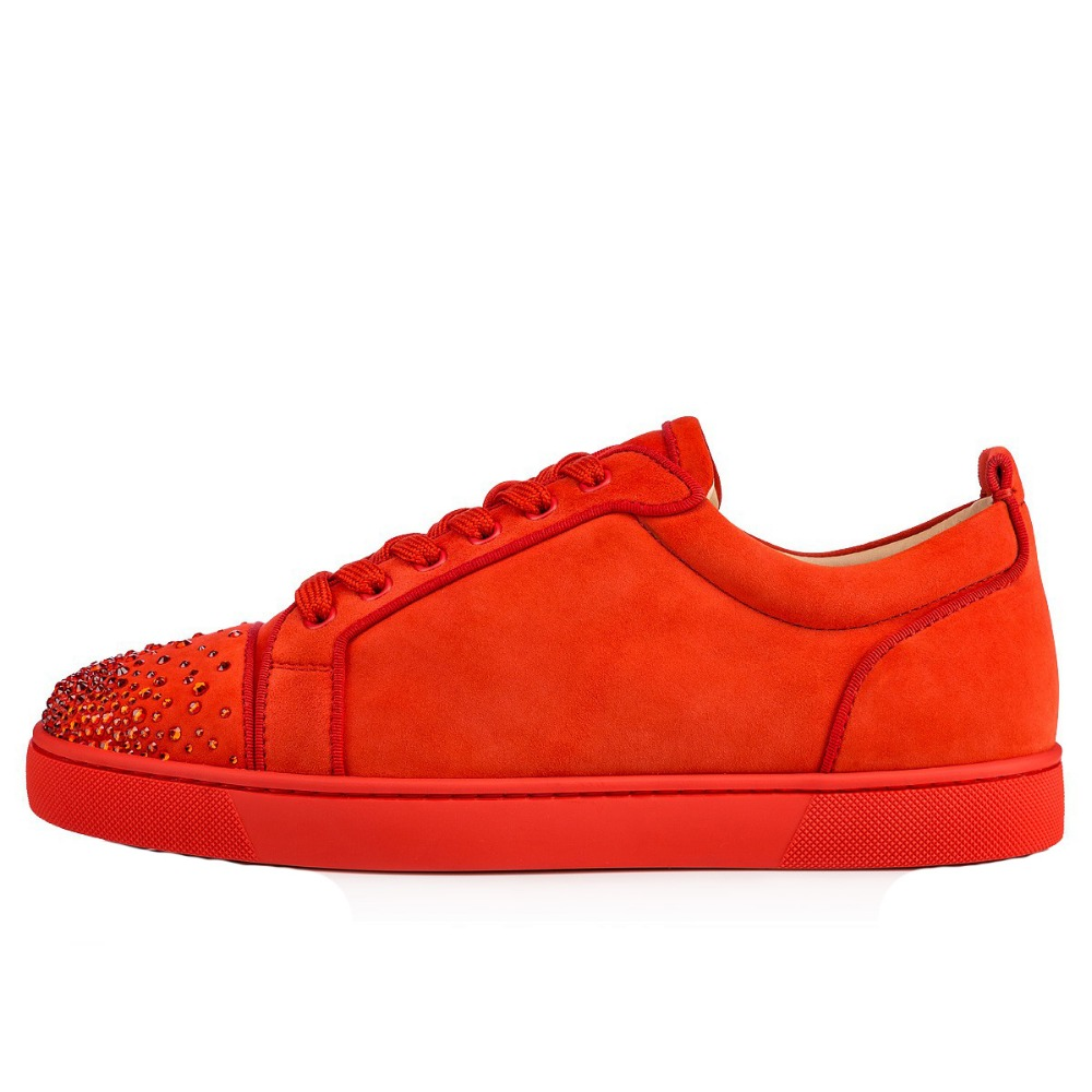 red shoes 2018 autumn men shoes lace up sneakers round toe crystal flats casual shoes plus size free shipping red leather men casual shoes lace up high tops flats fashion patchwork men s sneakers round toe plus size customized board shoes