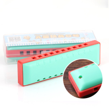 KONGSHENG Blues 10 Holes C Key Harmonica Kids Musical Early Educational Toy Children Musical Toy for Beginner 3-4-5 years old