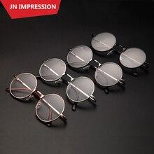 4 цвета, ретро круглые очки, металлическая оправа, очки для чтения, для мужчин и женщин, Oculos de grau, диоптрийные очки, 1 1,5 2 2,5 3