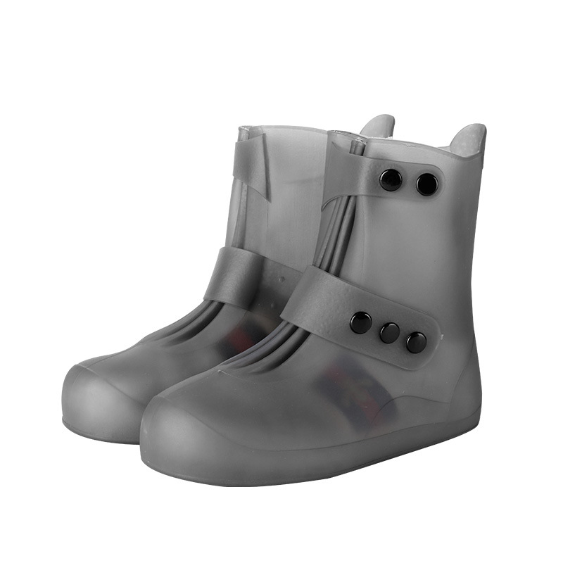 Atitifope Unisex Waterproof Shoes women rain shoes cover reusable anti-slip water boots rain cover for shoes