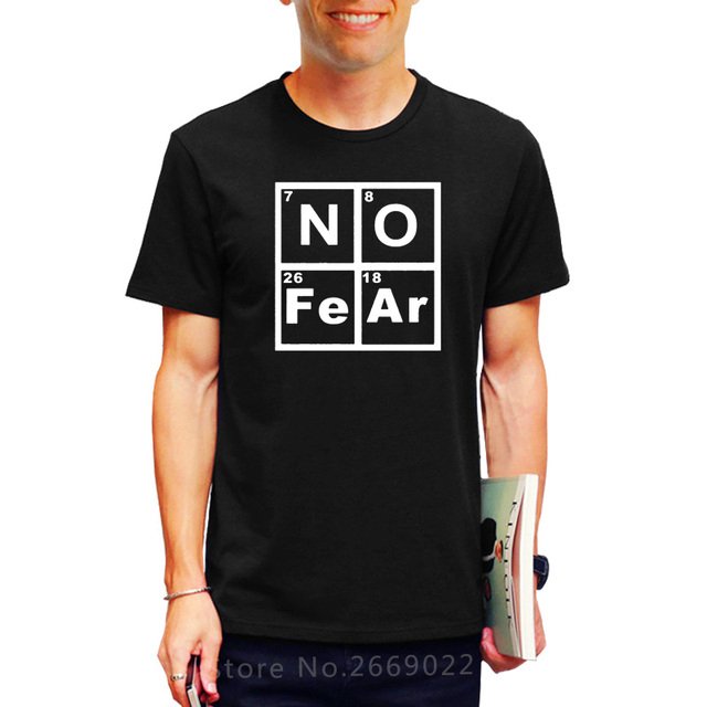 Printing new summer style novelty no fear periodic table of elements printing new summer style novelty no fear periodic table of elements t shirt funny cute urtaz Image collections