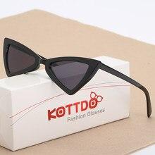 Retro Grosso Quadro Do Gato Olho Óculos De Sol Das Mulheres Da Forma Das  Senhoras Marca Designer de Cateye Óculos de Sol Da Lent. 7b024da296