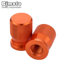 BJMOTO Motocicleta Da Roda Do Veículo Pneu Da Haste Da Válvula Caps Covers Para KTM 1050 1190 1290 ADV SW DUQUE RC 125 200 390 690 990 Super duque(China)