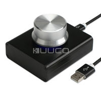 USB Controller USB Volume Audio Adjuster PC Speakers Switch Control Module For Adjusting Volume Of Computer