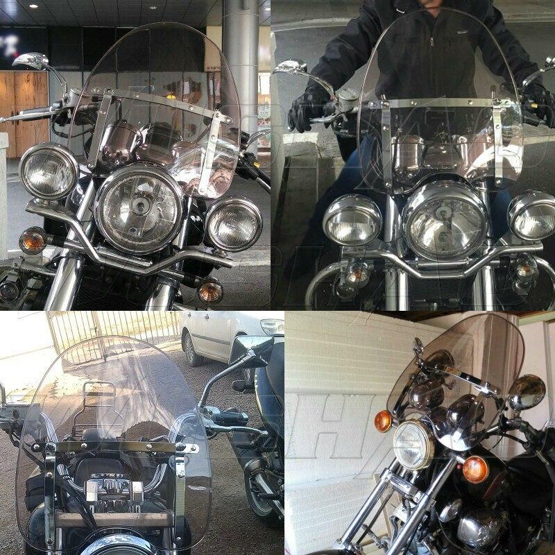 Artudatech Pare-Brise de Moto Pare Brise Avant Moto Pare-vent Windshield Windscreen pour HON-DA CBR600RR CBR 600 RR 2007-2012