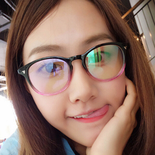Fashion classic spectacle frame flat glasses decoration outdoor use and driving glasses women optical 2179