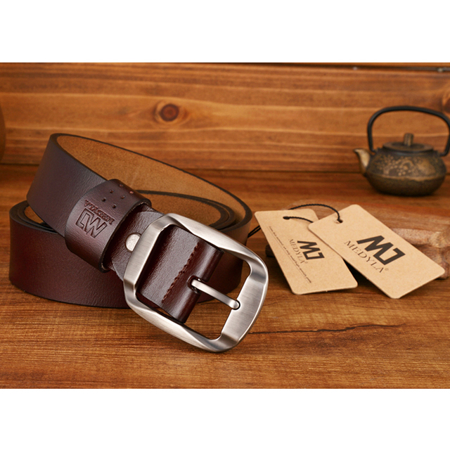 MEDYLA Dropship High Quality Genuine Leather Belt 2