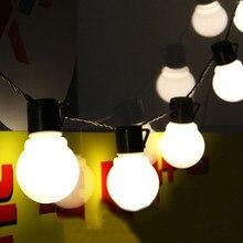 Novelty 5CM Big Ball LED String Light Christmas 2.5M 5M 10M Fairy String Garland Starry Lights Party Wedding Outdoor Lighting