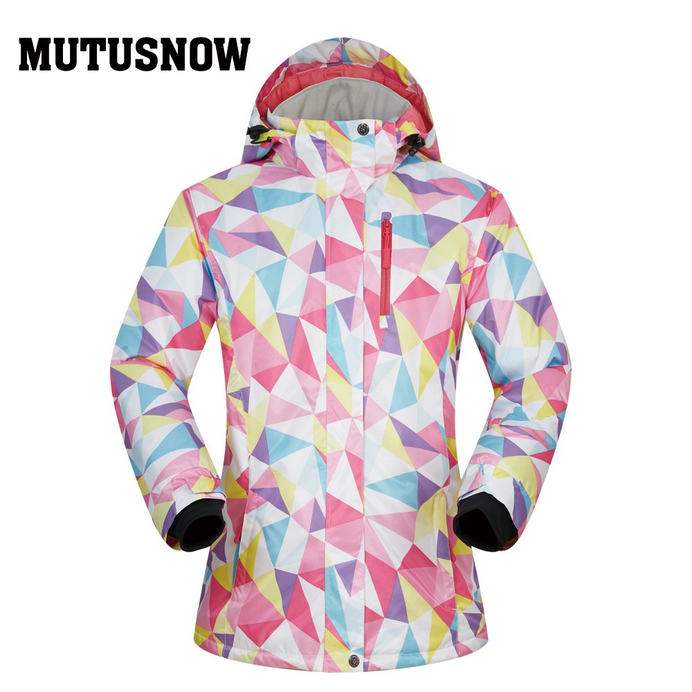 Snowboard Women Jacket Ski MUTUSNOW 2019 New Quality Winter Windproof Waterproof Warmth Snow Skiing Winter Snowboard Coat BrandsSnowboard Women Jacket Ski MUTUSNOW 2019 New Quality Winter Windproof Waterproof Warmth Snow Skiing Winter Snowboard Coat Brands