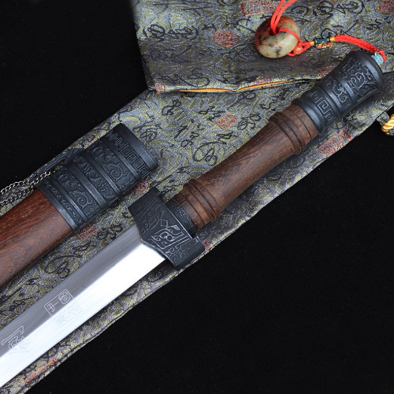 Ancient Chinese Dynasty Carbon Steel Sword 3