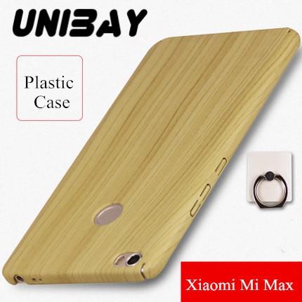 imágenes para Xiaomi mi caja de Plástico cubierta de Madera De Bambú de Color mi max max Completo Borde Envuelto Versión de Actualización Caja Dura de la PC