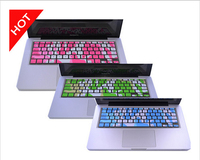Free Shipping US Version Silicone Soft Keyboard Cover Skin Sticker For Apple Macbook Pro Retina Air