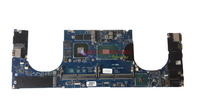 SHELI FOR DELL XPS 15 9550 Motherboard with i5 6300HQ CPU AND 960M GPU  1VG5R 01VG5R CN 01VG5R LA C361P -in Laptop Motherboard from Computer &  Office