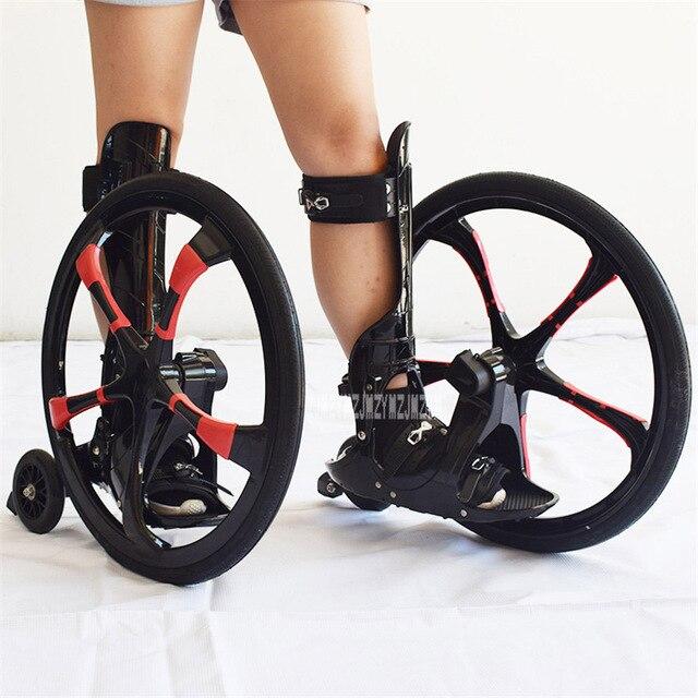 Patins à roulettes en caoutchouc de glissement de planche à roulettes Freeline de rue extérieure 20 pouces 2 grandes roues chaussures de patinage en ligne taille adulte 37-45 TF-01
