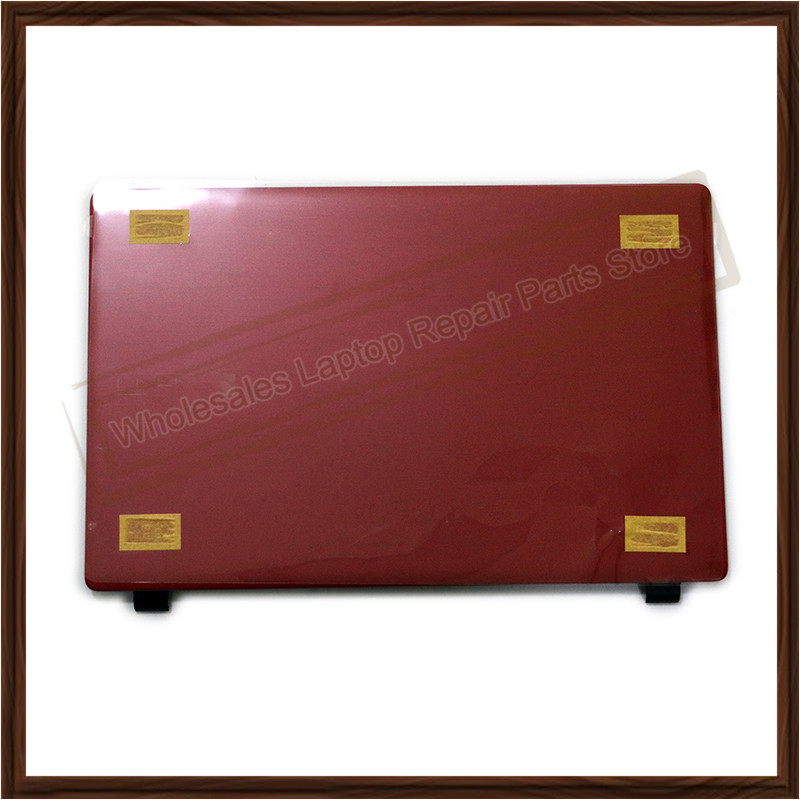 Original New Red LCD Back Cover With Shaft Cover For Acer Aspire E5-511 E5-511G E5-511P E5-531 E5-551 E5-551G E5-571 E5-571G 2017 high quality original ut501b digital insulation resistance tester with lcd backlight earth tester megger free shipping