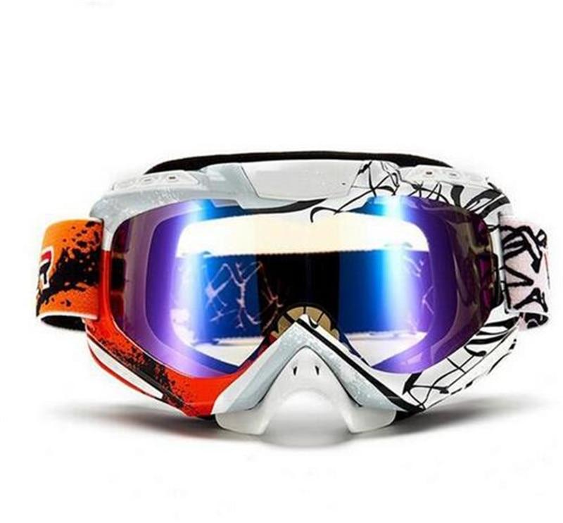 Gafas protectoras de Motocross Gafas de Snowboard para hombre Gafas de exterior Casco Moto a prueba de viento para Casco de carreras esquí motocicleta Gafas