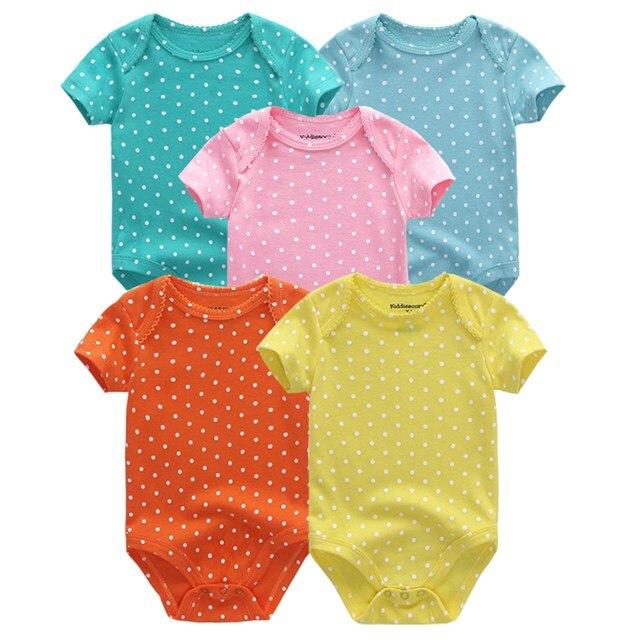 Kiddiezoom детские комбинезоны пижамы для маленьких девочек Дети Bebe Infantil одежда для новорожденных одежда из хлопка Одежда для маленьких мальчиков, Товары для детей - Цвет: baby clothes 5066