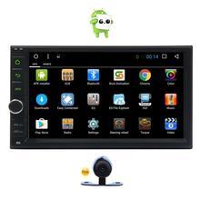Android 6.0  Car Stereo 2Din GPS Navigation Radio Bluetooth Autoradio Head Unit Support  3G/4G WIFI OBD2 FM/AM Radio Rear Camera