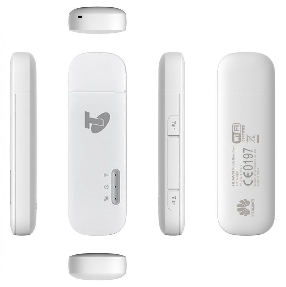 New Huawei E8372 USB + Wifi 4GX 4G UNLOCKED Mobile Broadband Modem Stock цена