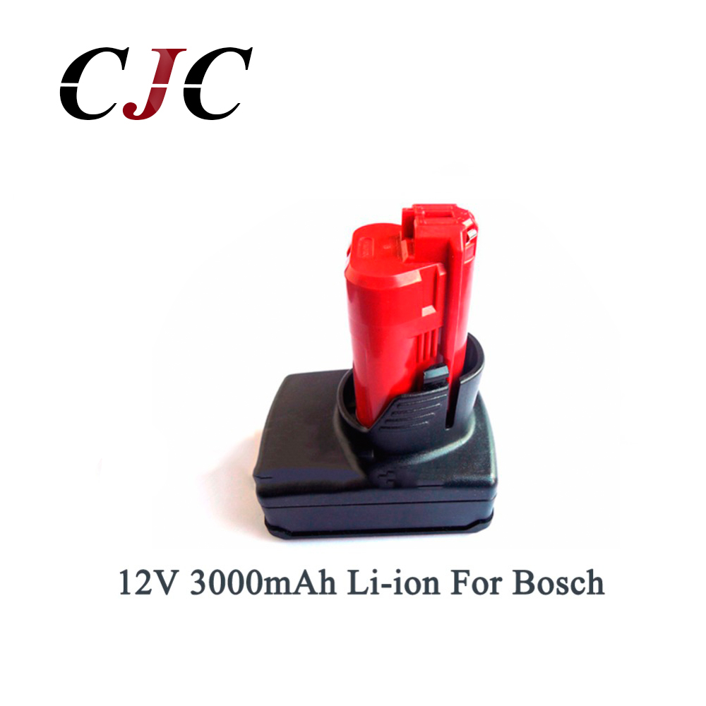 New Arrival 12V 3000mAh 3.0AH Li-ion High Capacity Rechargeable Power Tool Battery For Bosch BAT411 2 607 336 996 power tool battery hit 25 2v 3000mah li ion dh25dal dh25dl bsl2530 328033 328034 page 7