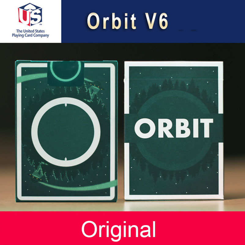 Orbit V6 Playing Cards High Quality Playing Cards Magic Tricks New Poker Cards For Magician Collection Card Game Close-up Magic