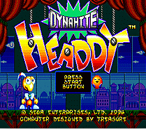 Dynamite Headdy 16 bit MD Game Card For Sega Mega Drive For SEGA Genesis