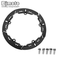 BJMOTO Motorcycle Part For Yamaha Tmax 530 sx/dx 2017 2018 Aluminum Transmission Belt Pulley Protective Cover
