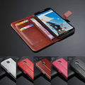Luxury Leather Wallet SkinFor Google Nexus 6 Flip Case Cover With Holders & Stands
