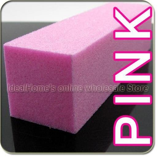 10 шт. розовый для дизайна ногтей Уход Блок-шлифовщик sanding Block файлы акриловый Инструмент