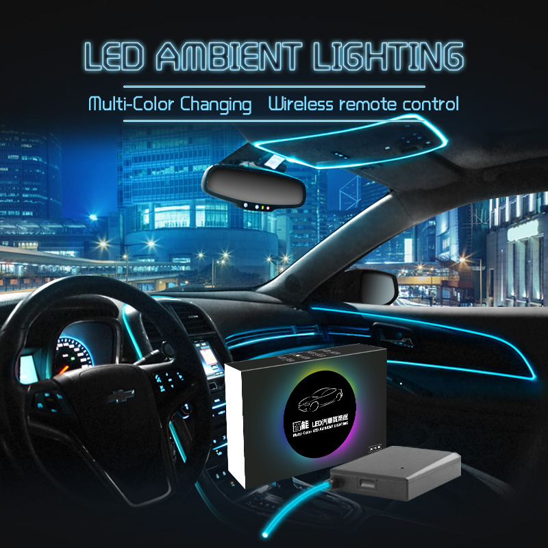 Us 114 9 Intelligent Multi Color Led Ambient Lighting For Car In Optic Fiber Lights From On Aliexpress 11 Double Singles