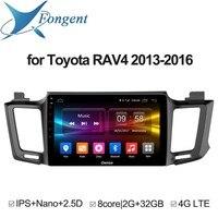 Для toyota RAV4 2013 2014 2015 2016 android автомобиля dvd gps Стерео Радио мультимедийный плеер Интеллектуальный компьютер Автомобиль Smart Drive