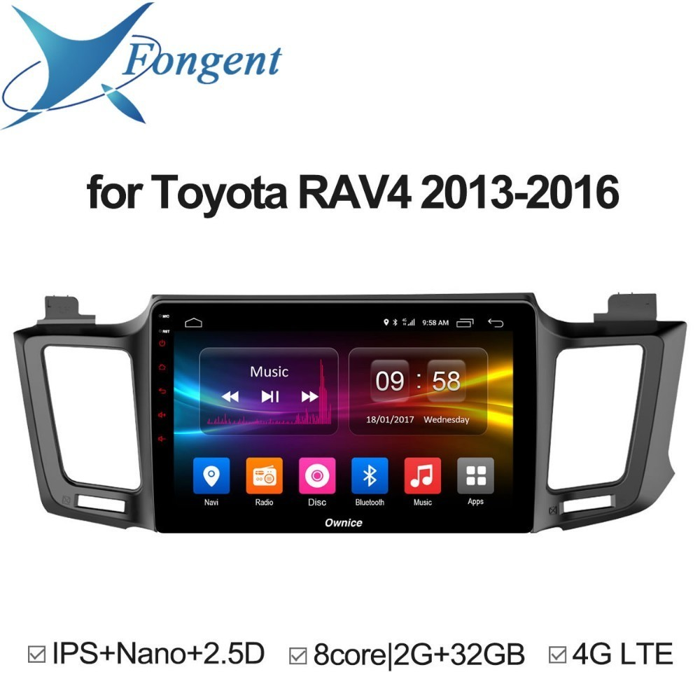 for toyota RAV4 2013 2014 2015 2016 Android Car dvd GPS stereo radio Multimedia player Intelligent Computer Vehicle Smart Drive