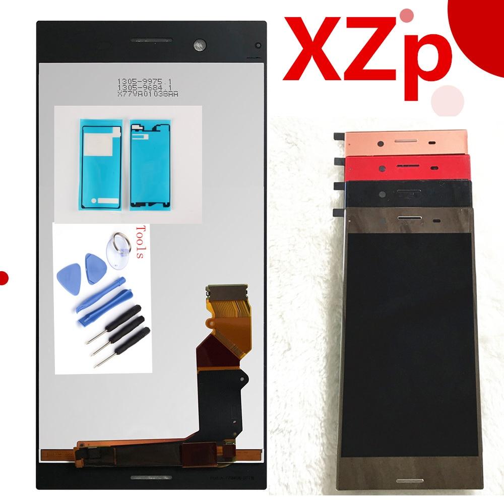 3840*2160 оригинальный ЖК-дисплей Дисплей для sony Xperia xzp XZ Премиум G8142 сенсорный экран 5,5 дюймов датчик кодирующего преобразователя Панель сборки ...