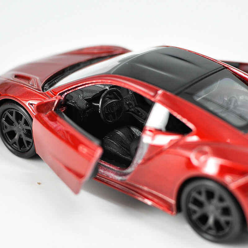 Welly 1:36 Honda 2015 NSX Pull Back Diecast Model Sports Racing Car Toy IN BOX