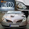 For NISSAN PRIMERA P12 2002 2008 Excellent Ultra Bright Illumination CCFL Angel Eyes Kit Halo Rings