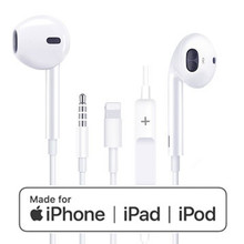 3.5mm Jack Earphone Lighting Earpods Earbuds Digital Headset for Apple iPhone 5s