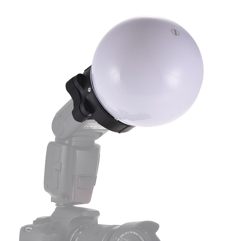 On camera Flash Diffuser Ball Speedlite Accessories Soft Balls for Nikon  Canon Yongnuo Godox Sigma Neewer Vivitar Speedlight-in Photographic  Lighting