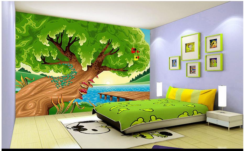 Custom 3d Photo Wallpaper 3d Wall Mural Wallpaper 3d Cartoon Murals