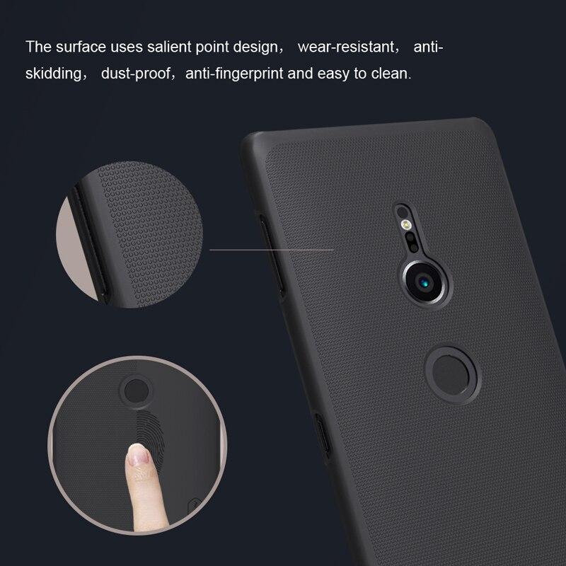 1b54cb4de87 Para Sony Xperia XZ3 XZ2/XZ2 compacto caso NILLKIN punto importante ...