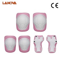 LANOVA 6pcs/Set protective patins  Set Knee Pads Elbow Pads Wrist Protector  Protection for Scooter Cycling Roller Skating