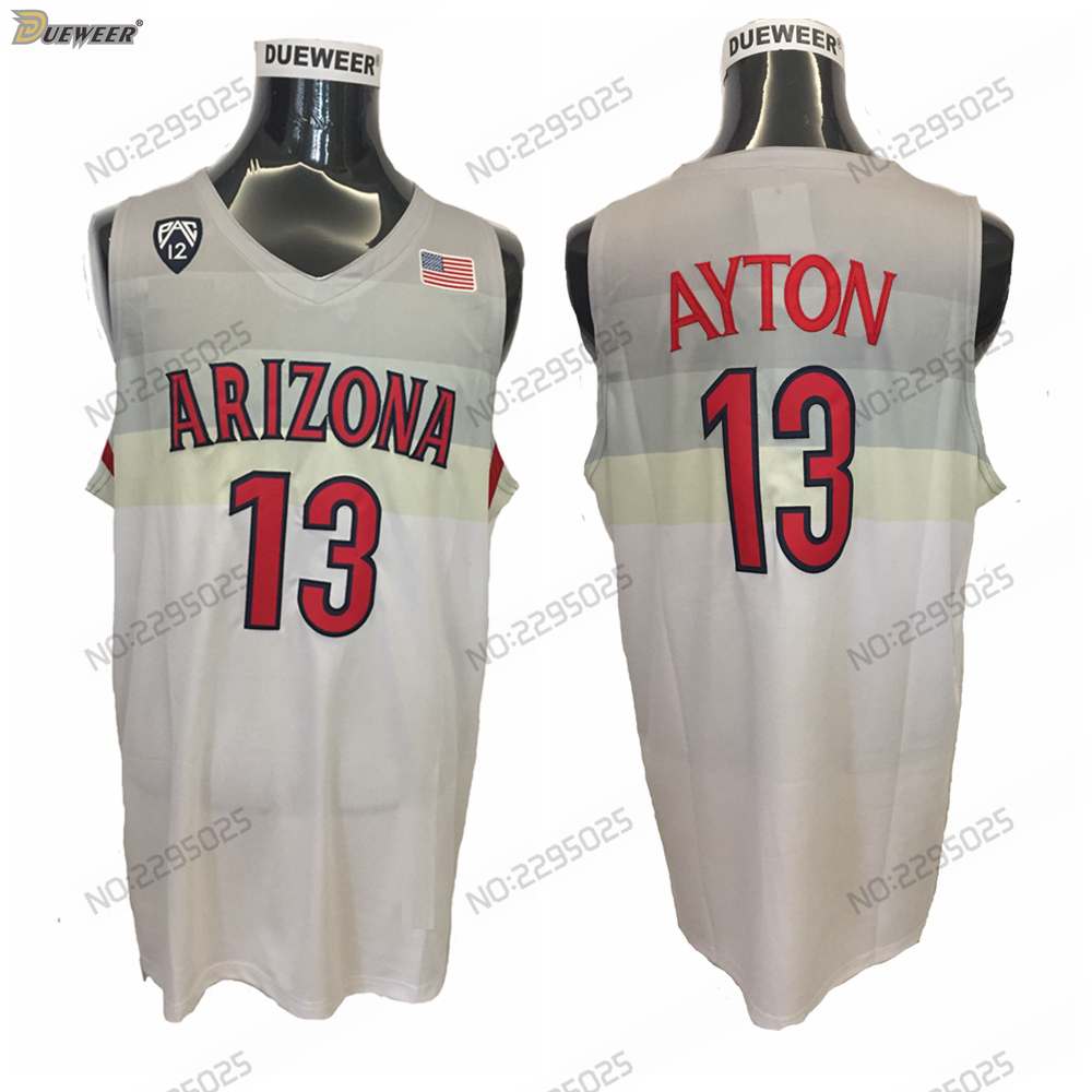 new style 94829 7bd4c promo code for wildcats 13 deandre ayton red basketball ...