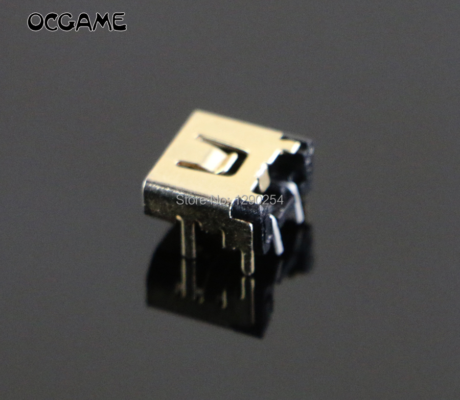 OCGAME For nintendo ndsl power jack charge socket for NDSL socket 3pcslot