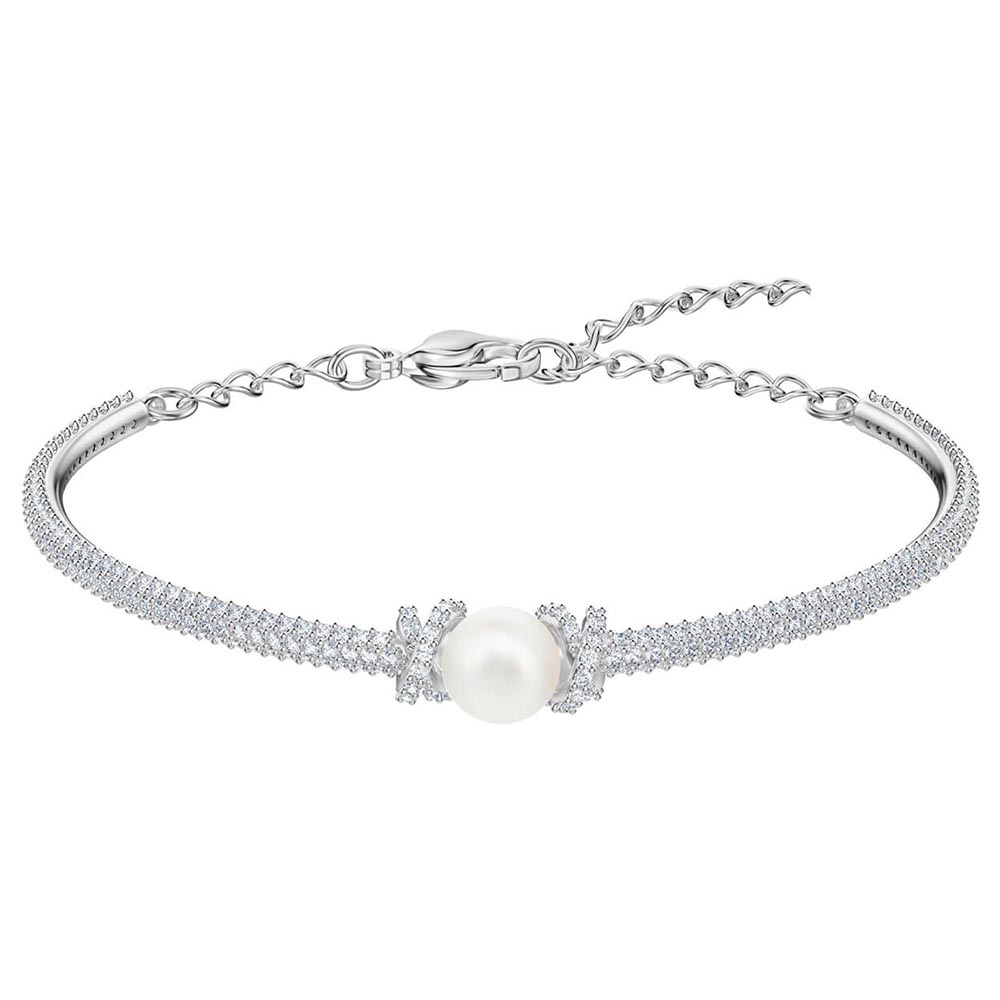 SWA RO 2019 ORIGINALLY Crystal Pearl Bracelet Womens High Quality 1:1 Exquisite Fit for Girlfriend Moms Jewelry Preferred GiftSWA RO 2019 ORIGINALLY Crystal Pearl Bracelet Womens High Quality 1:1 Exquisite Fit for Girlfriend Moms Jewelry Preferred Gift
