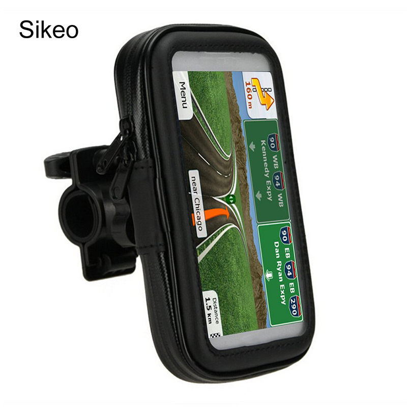 sikeo motorcycle phone holder mobile stand support. Black Bedroom Furniture Sets. Home Design Ideas