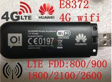 Разблокирована huawei e8372 150 7.2mbps модем 4 г wi-fi маршрутизатор 4 г lte wi-fi модем, pk huawei e8278 e355 w800 w800z e5776 e589
